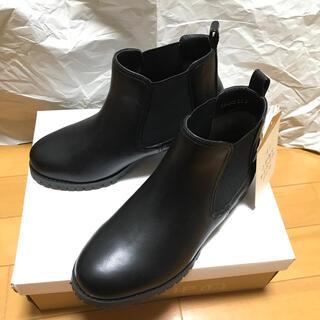 スタディオクリップ(STUDIO CLIP)のサイドゴアブーツ Mサイズ【タグ&箱付・匿名配送・送料込】(ブーツ)