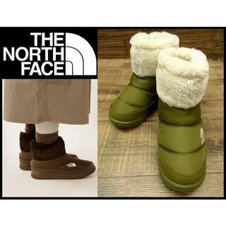 ザノースフェイス(THE NORTH FACE)の新品 ノースフェイス NFW51887 アモアブーティー 22cmフィアグリーン(ブーティ)