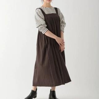 スタディオクリップ(STUDIO CLIP)のStudio Clip*ヘリンボーン起毛スカート(ロングスカート)