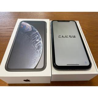 Apple - ドコモ iPhoneXR 黒 64GB SIMロック解除済