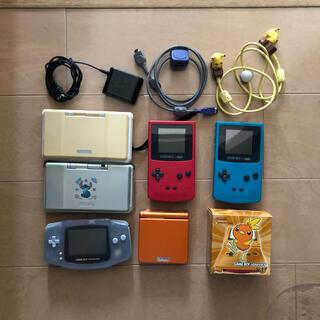 ゲームボーイアドバンス(ゲームボーイアドバンス)のゲームボーイ本体とソフトのセット(携帯用ゲームソフト)