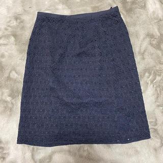 ジェイプレスレディス(J.PRESS LADIES)のJPRESSの春秋スカート(ひざ丈スカート)