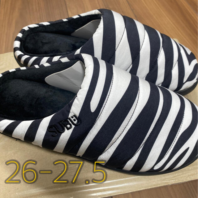 BEAMS(ビームス)のSUBU BEAMS ゼブラ サイズ26-27.5 メンズの靴/シューズ(サンダル)の商品写真