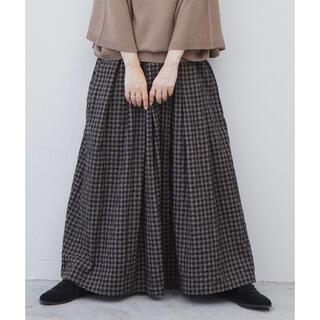 Libra ギンガムチェックボリュームスカート 未使用