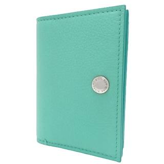 Tiffany & Co. - ティファニー ヴァーティカルフォールドカードケース 緑 40800060796