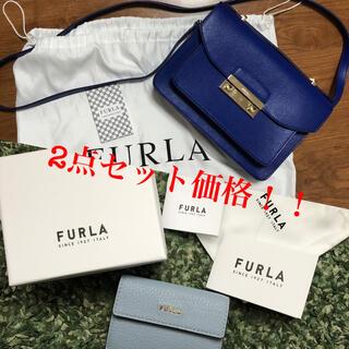 フルラ(Furla)のFURLA フルラ ショルダーバッグ 三つ折り財布 セット まとめ(ショルダーバッグ)