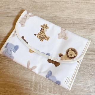 gelato pique - ジェラートピケ ぬいぐるみ柄じゃばら母子手帳ケース