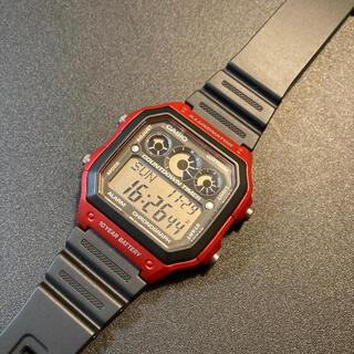 【新品同様】CASIO チープカシオ AE-1300WH 腕時計