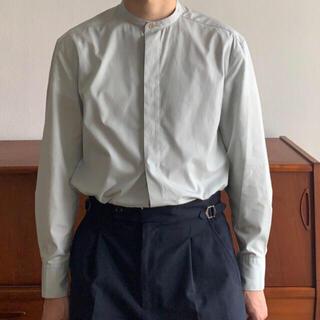 foufou フライフロント スタンドカラーシャツ 定価14000円程