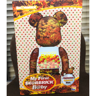 MEDICOM TOY - BE@RBRICK B@BY AUTUMN LEAVES 100%&400%