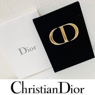 クリスチャンディオール(Christian Dior)のディオール ノベルティ ミラー ベロア 卓上鏡(卓上ミラー)