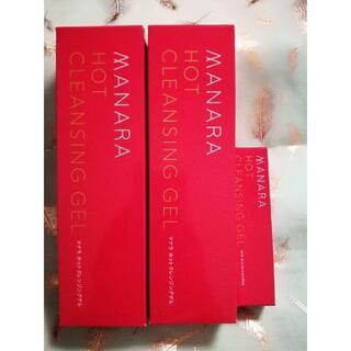 マナラ(maNara)のマナラホットクレンジングゲル 2本+2本(クレンジング/メイク落とし)