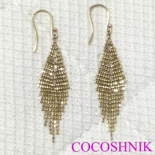 COCOSHNIK - 美品♡ココシュニック ダイヤ型ピアス