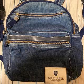 バーバリーブルーレーベル(BURBERRY BLUE LABEL)のブルーレーベル クレストブリッジ リュック(リュック/バックパック)