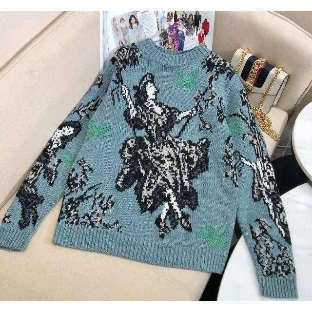 Dior(ディオール)の【DIOR】ラウンドネックウールセーター メンズのトップス(ニット/セーター)の商品写真
