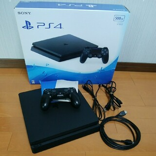 PlayStation4 - SONY PS4本体 CUH-2000A B01 500GB 黒 BK