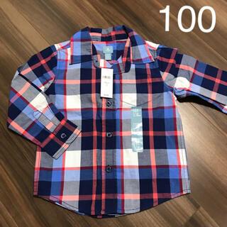 ベビーギャップ(babyGAP)のbabyGAP カットソー  シャツ 100cm フォーマルにも(Tシャツ/カットソー)