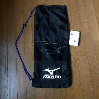 ミズノ(MIZUNO)のMIZUNO テニスラケットケース&NIKE DRI -FIT2つ(バッグ)