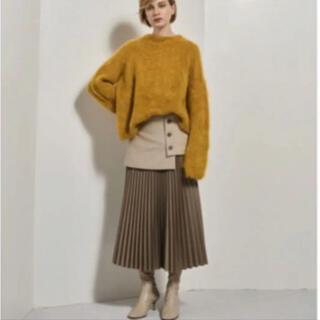 ルシェルブルー(LE CIEL BLEU)のルシェルブルー スカート Layered Pleated Skirt(ロングスカート)