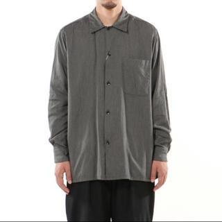 COMOLI - 新品 COMOLI ヨリ杢オープンカラーシャツ サイズ1