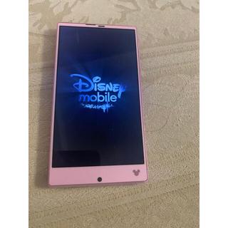 ディズニー(Disney)のディズニー モバイル シャープ箱あり(スマートフォン本体)
