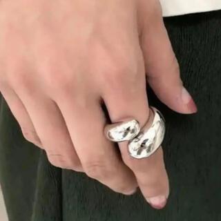 トゥデイフル(TODAYFUL)の大人気なため再入荷!tear drop ring silver925(リング(指輪))