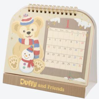 ダッフィー - ディズニー ダッフィー  卓上カレンダー 2021