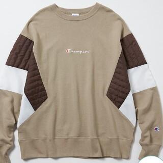 Champion - スウィッチングクルーネックスウェットシャツ 直営店限定コレクション チャンピオン