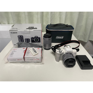 Canon - canon eos kiss m  ダブルズームキット(美品) セット