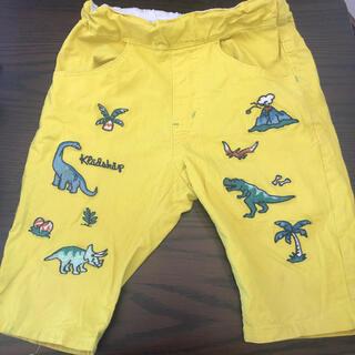 クレードスコープ(kladskap)のハーフパンツ クレードスコープ 恐竜いっぱい  100㎝  (パンツ/スパッツ)