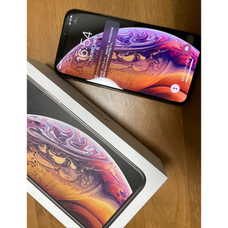 Apple - Apple iPhone XS Gold 256GB SIMフリー 美品