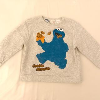 ザラキッズ(ZARA KIDS)のザラベビー♡zarababyクッキーモンスターのトレーナー babygap(Tシャツ/カットソー)