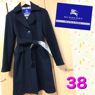 BURBERRY BLUE LABEL - とっても美品★クリーニング済★バーバリーブルーレーベル ロングコート