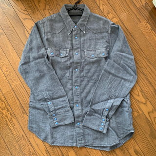 ポーター(PORTER)のポータークラシック  pc7 linen western shirt(シャツ)
