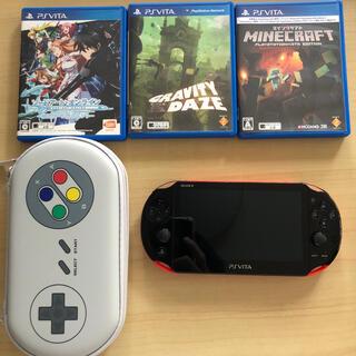 PlayStation Vita - PlayStation®Vita(PCH-2000シリーズ) Wi-Fiモデル赤