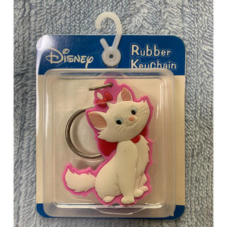 Disney - Disney マリーちゃん ラバーキーホルダー
