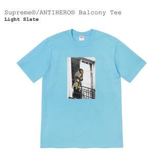 Supreme - Supreme ANTIHERO Balcony Tee Light Slate
