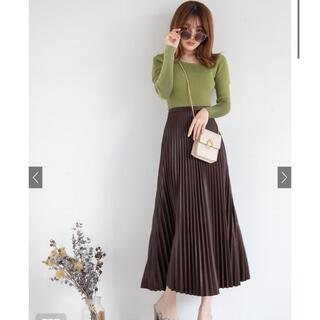 GRL - GRL レザースカート