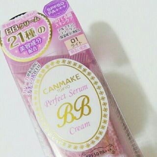 CANMAKE - キャンメイクパーフェクトセラムBBクリーム 01 ライト