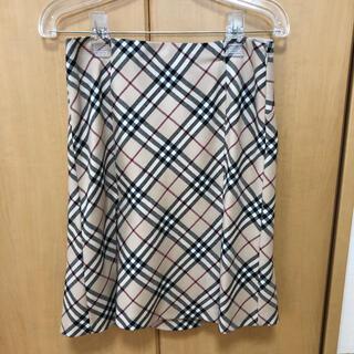 バーバリーブルーレーベル(BURBERRY BLUE LABEL)のバーバリー スカート(ひざ丈スカート)