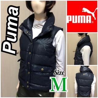 プーマ(PUMA)のPuma プーマ美品!防寒ゴルフウェア本物ダウンベスト 冬ゴルフに暖かいです❤︎(ウエア)