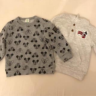 アカチャンホンポ(アカチャンホンポ)のミッキー♡トレーナーセットアカチャンホンポザラベビーbabygap(Tシャツ/カットソー)