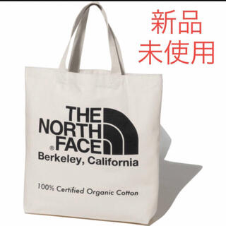 THE NORTH FACE - 【新品未使用】ノースフェイス オーガニックコットン トートバッグ ブラック