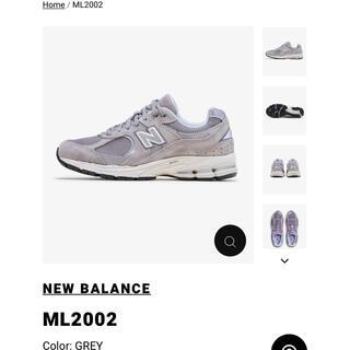 ニューバランス(New Balance)のNew balance ML2002RC グレー 27cm(スニーカー)