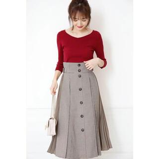 Rirandture - 新品タグ付き リランドチュール  プリーツ切替スカート サイズ2