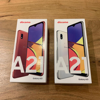 SAMSUNG - Android Galaxy A21 (1台分の価格に変更しました)