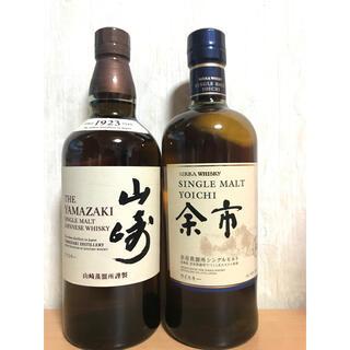 サントリー - ニッカ/余市&サントリー/山崎 +小瓶付き