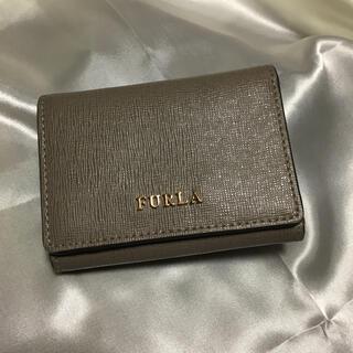 フルラ(Furla)の美品 フルラ おり財布 グレージュ(財布)