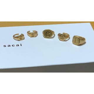 サカイ(sacai)のsacai 20aw リング&イヤーカフ(リング(指輪))