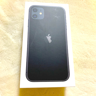 Apple - iPhone11 64GB BLACK 本体 simフリー